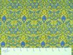 Fleurette - Blue & Yellow Medium Floral - Benartex