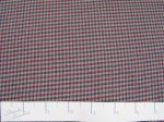"60"" Brushed Cotton - Taupe, Navy, & Wine Check"